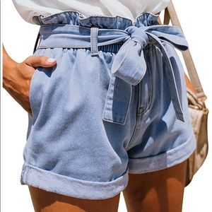 Pants - Denim shorts